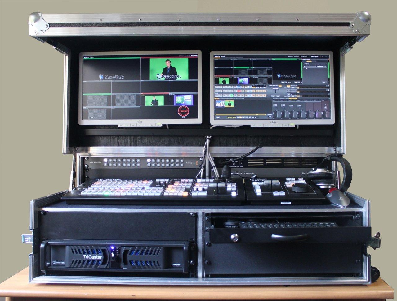 Elman dual o b box hd mobile video studio - Mobili studio registrazione ...