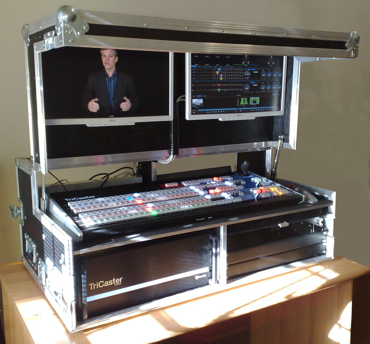 Virtual Home Design Studio: O.B. BOX Dual 8000 (mobile Video Studio